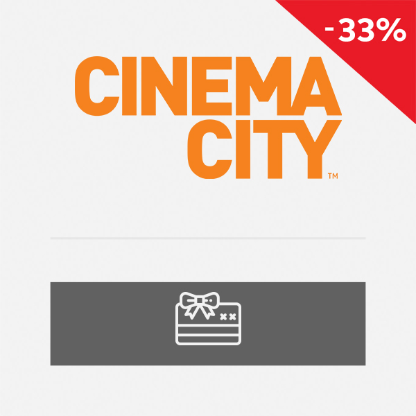 Bilet do Cinema City na seans 2D